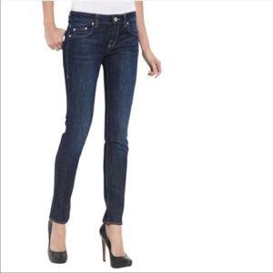 William Rast Kara Skinny Jeans Dark Denim NWT 31